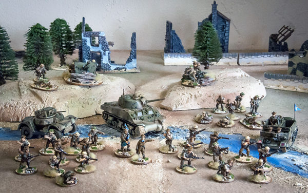 51st Army in action