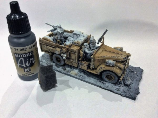 Painting Guide Long Range Desert Group Warlord Games
