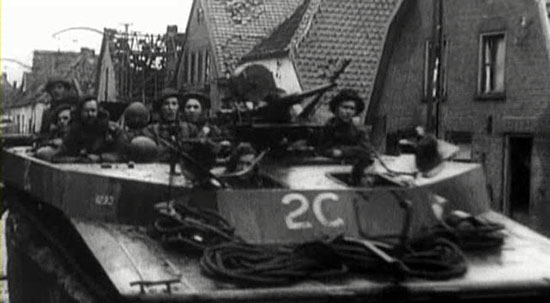 79th Armoured Div Holland LVT4 buffalo