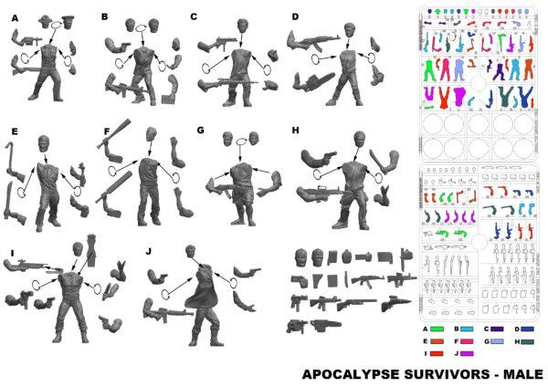 APOCALYPSE SURVIVORS - MALE - RICHD VERSION