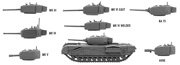 Churchill-variants