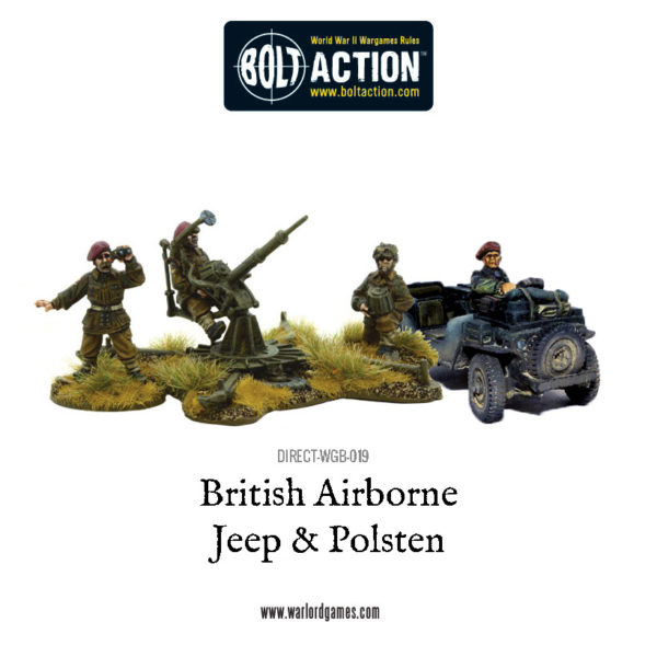 DIRECT-WGB-019 - British Airborne Jeep and Polsten