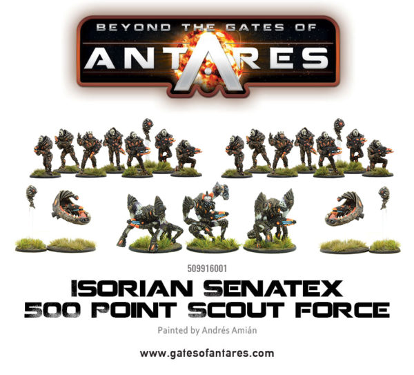 509916001 Isorian Senatex 500 Point Scout Force