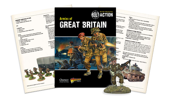 Armies Of Great Britain spread