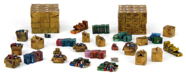 Boxes etc