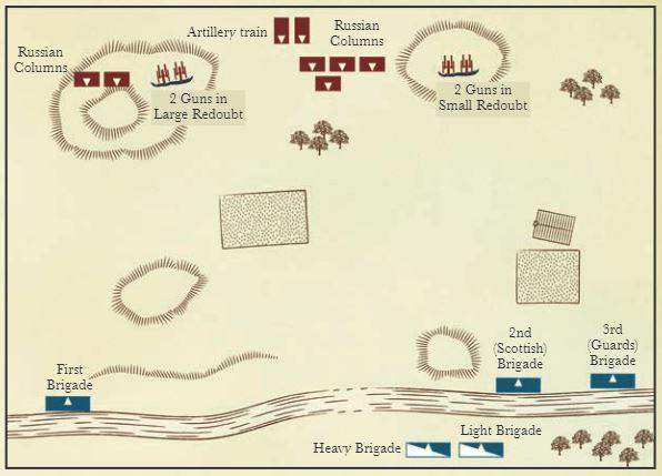 Crimea river map