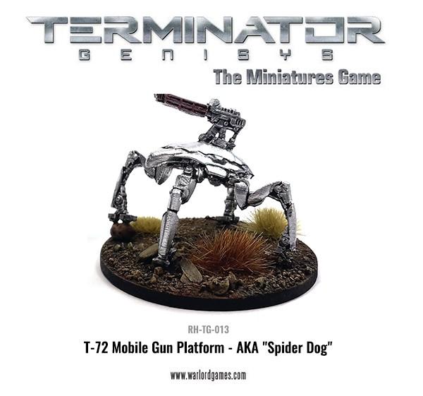 RH-TG-013 T-72 Mobile Gun Platform.Spider Dog