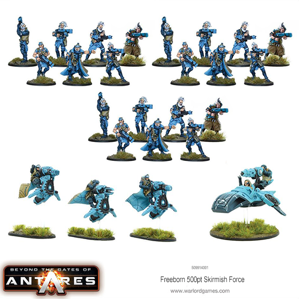 509914001 Freeborn 500 point Scout Force