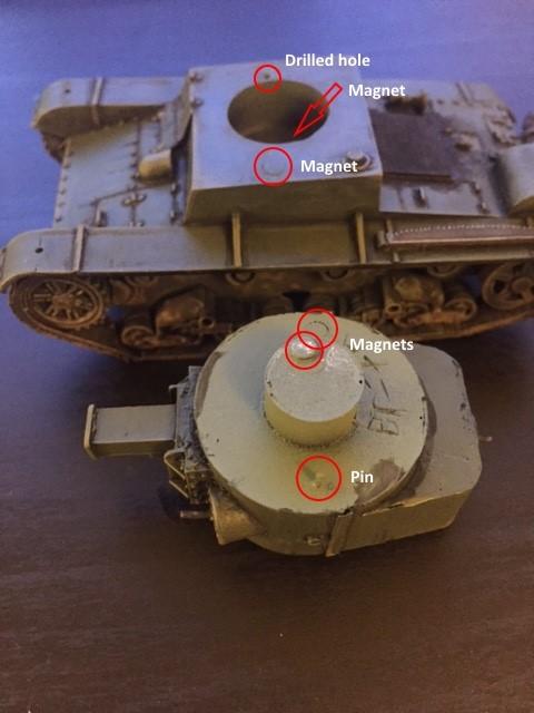T-26-4 conversion in progress