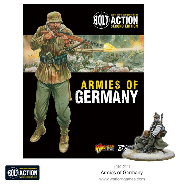 WWII Mein Kamerad Armies of Germany 2ed special miniature Bolt Action