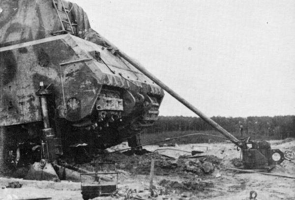 Panzer VIII Maus track change 2