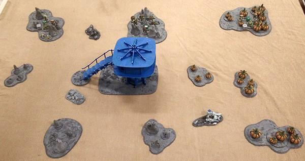 1, Start of the game, Boromite deployment