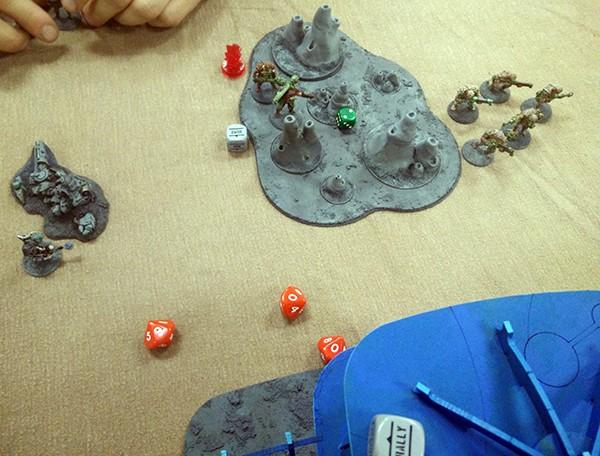 10, Boromites get unlucky on gouger gun saves!