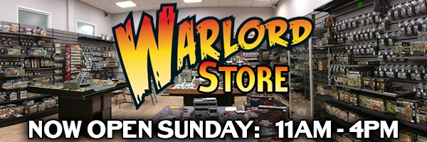 Warlord Games HQ Store - Now Open Sunday 11am to 4pm