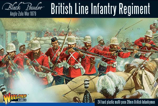 302014601 AZW British Line Infantry Regiment