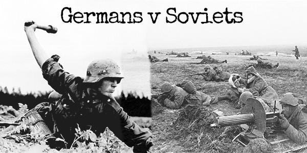 Germans V Soviets 3 Banner MC