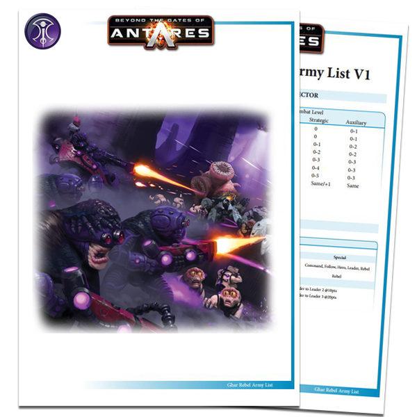 Outcast Army List PDF Cover
