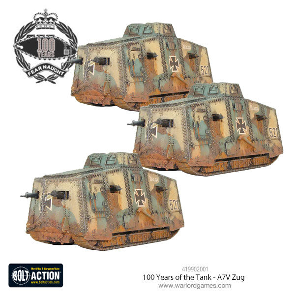 419902001-100-Years-of-the-Tank---A7v-Zug