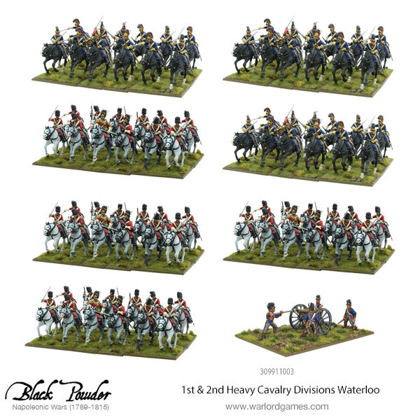 309911003 1st & 2nd Heavy Cavalry Divisions Waterloo