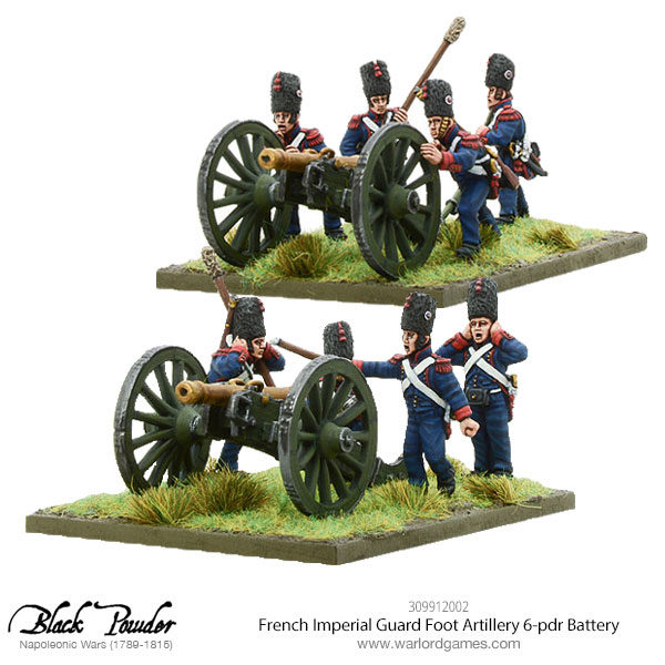 309912002-Napoleonic-French-Imperial-Guard-Foot-Artillery-6-pdr-Battery