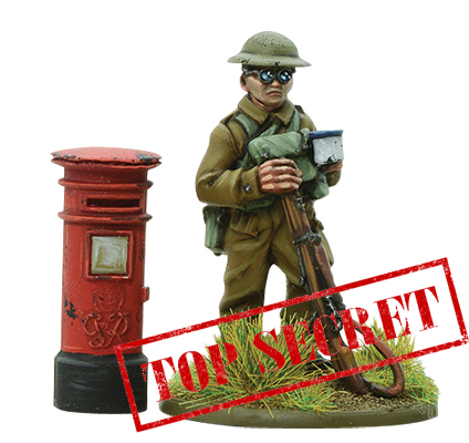 Post box with officer TS