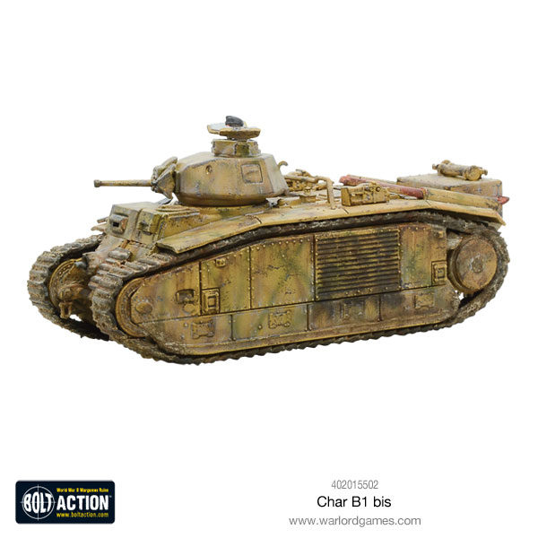 Char B1 bis plastic model kit