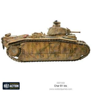 Char B1 bis plastic model kit