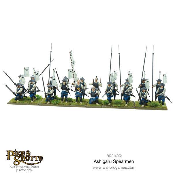 New: Pike And Shotte Samurai Starter Army