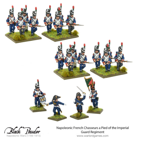 Chasseurs a Pied of the Imperial Guard Regiment