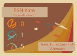 B5N-Kate Stat Card