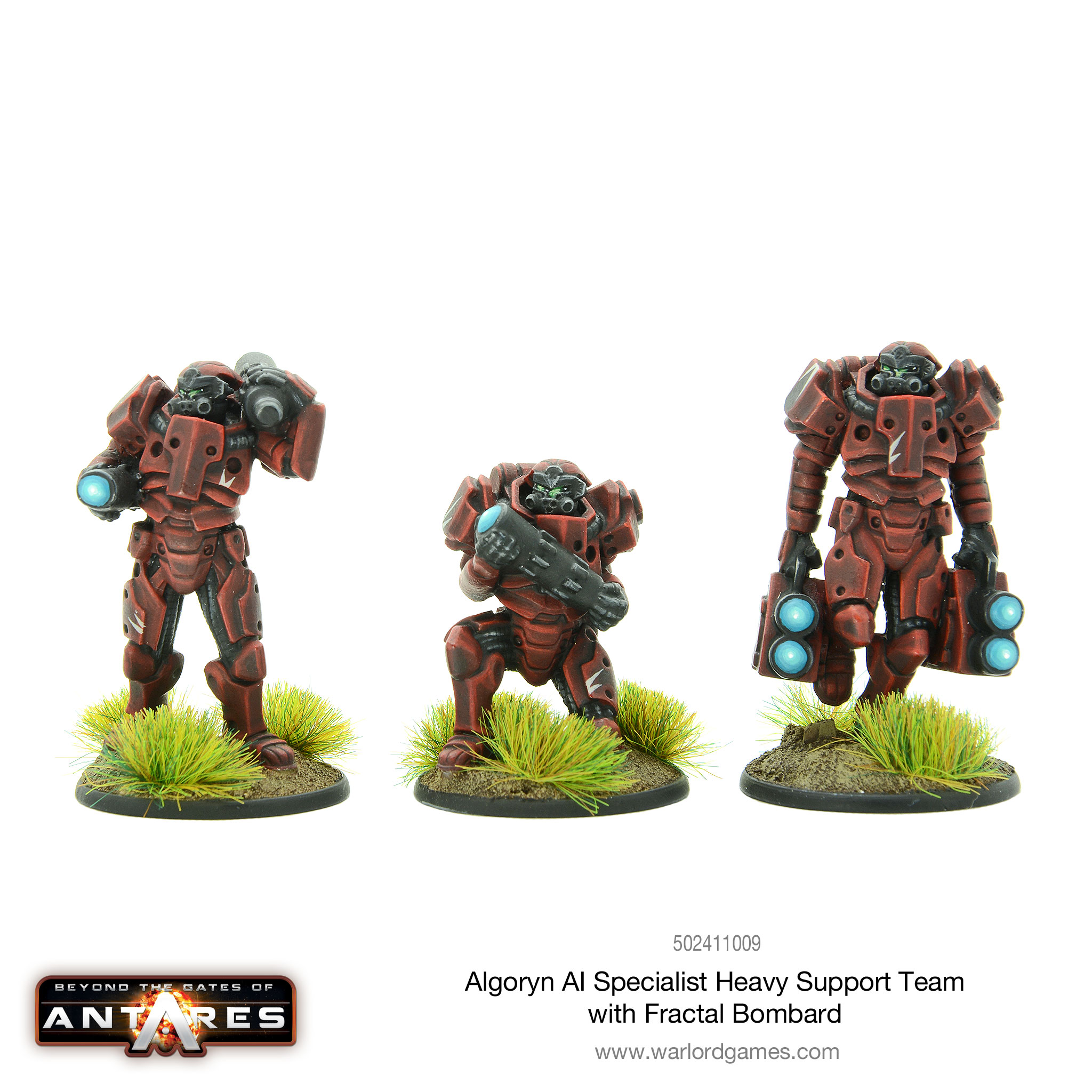 Algoryn AI Specialist Heavy Support Team