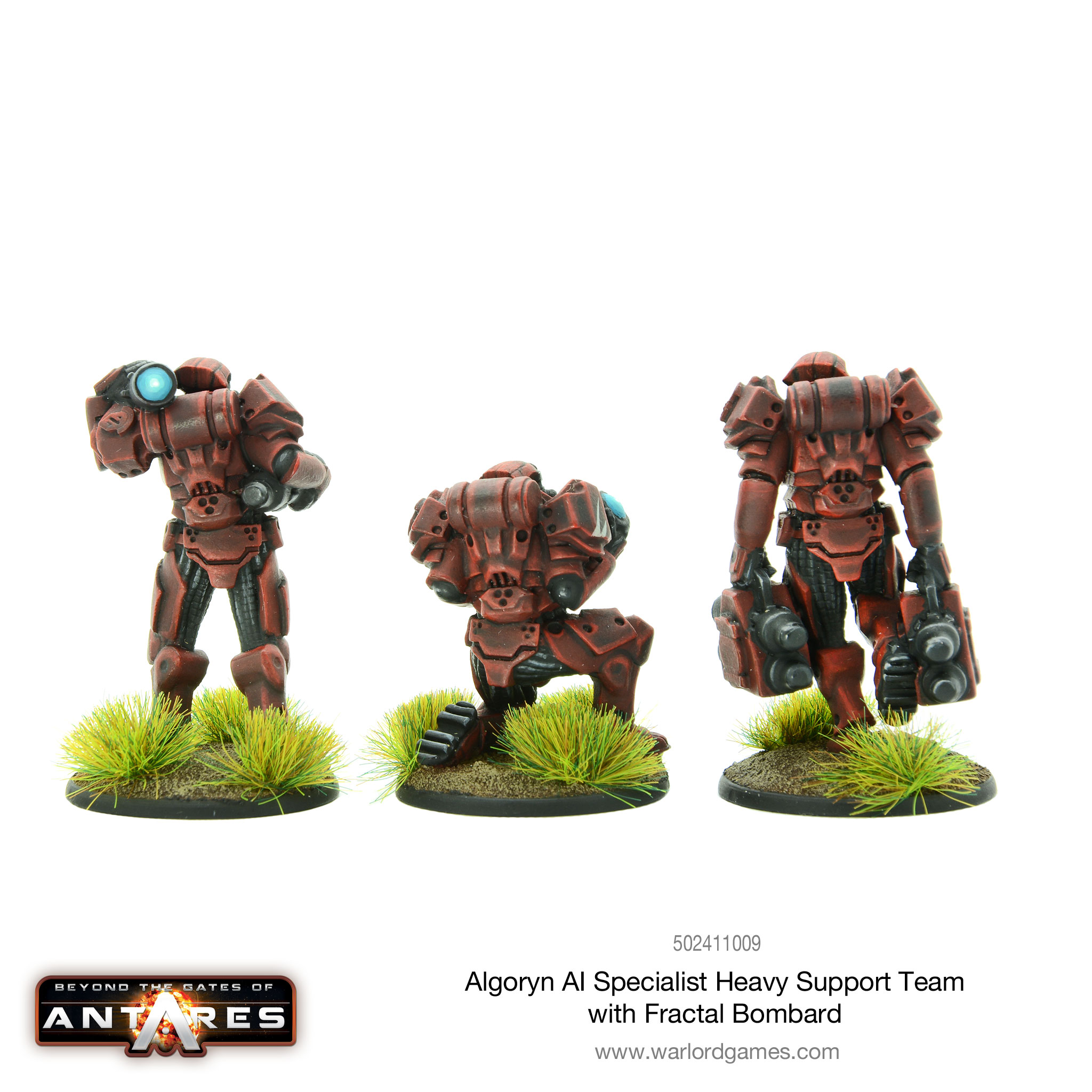 Algoryn AI Specialist Heavy Support Team - reverse angle