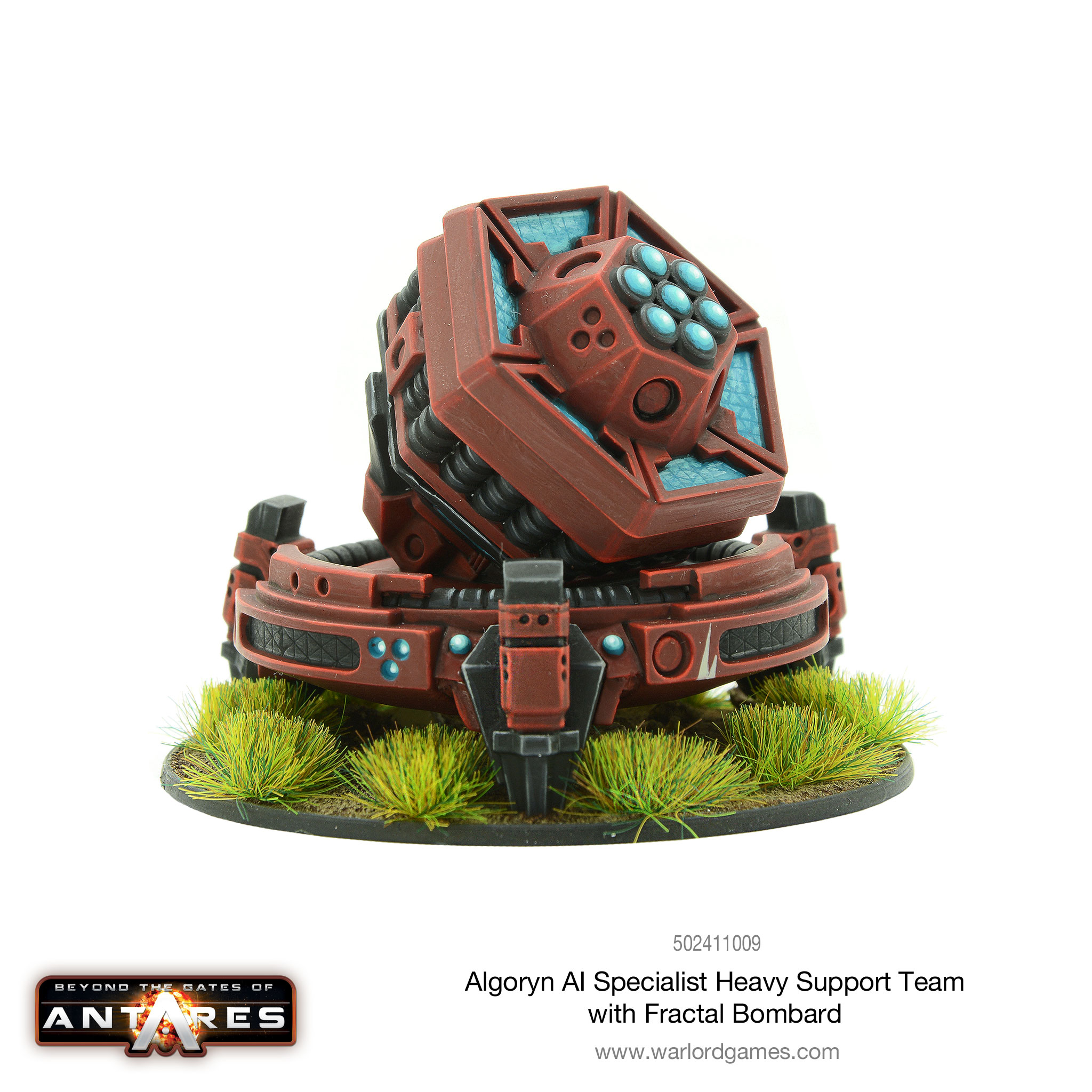 Algoryn AI Specialist Heavy Support Fractal Bombard