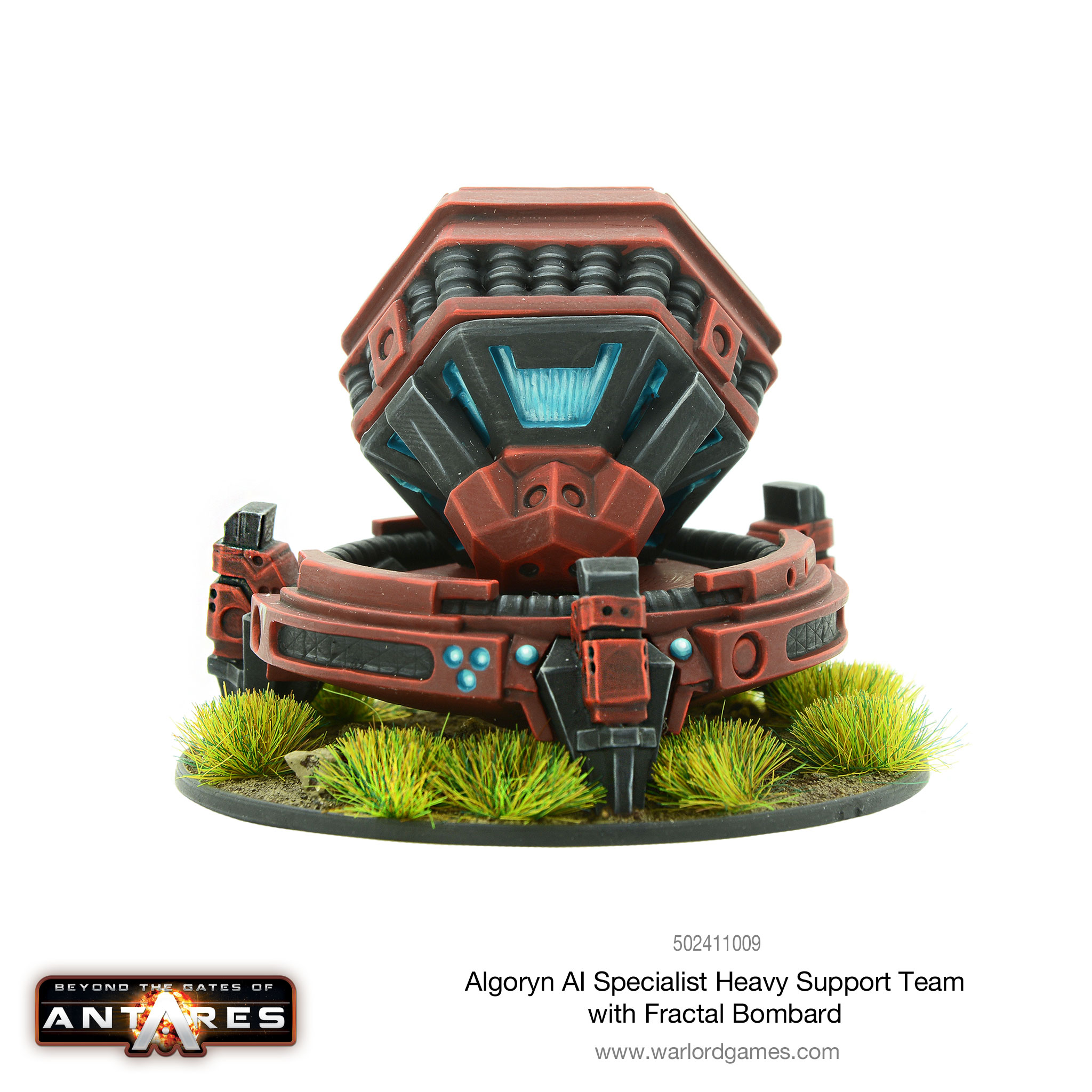 Algoryn AI Specialist Heavy Support Fractal Bombard - reverse angle