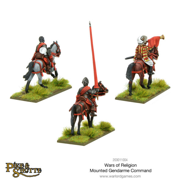 Wars of Religion Mounted Gendarmes Command - back view