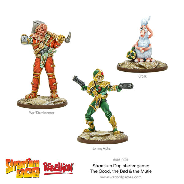 Strontium Dog Starter Set – Search/Destroy Agents