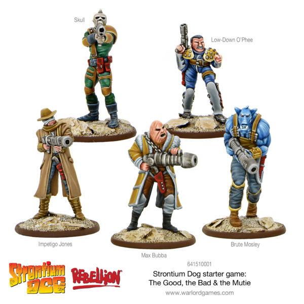 Strontium Dog Starter Set – Max Bubba's Gang