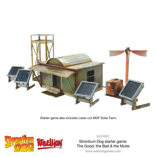 Strontium Dog Starter Set Solar Farm Scenery