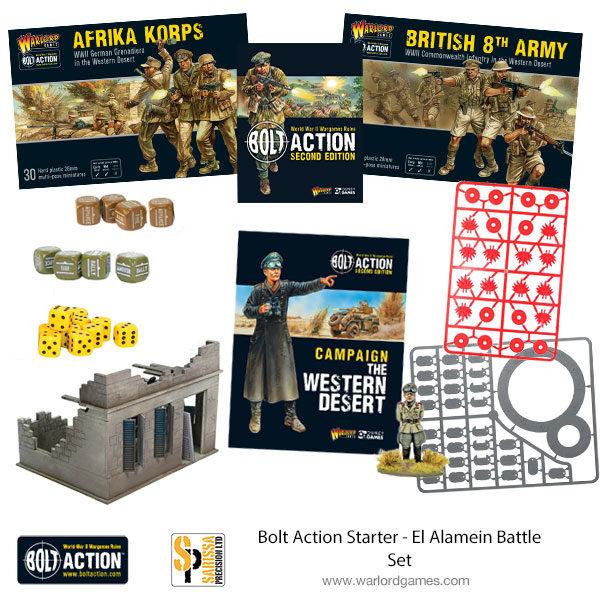 El Alamein Battle Set - Bolt Action Starter