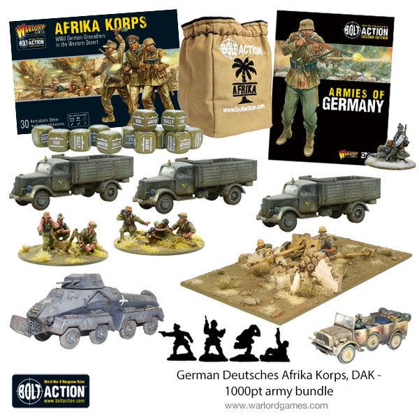 German Afrika Korps 1000pt army bundle