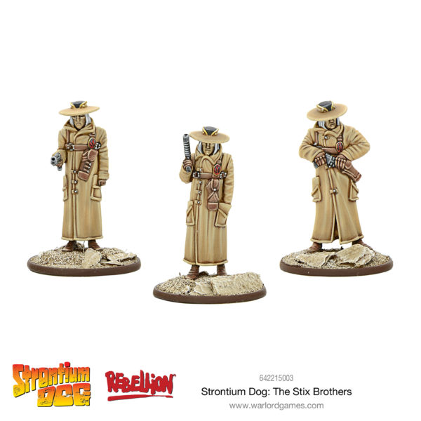 Strontium Dog - The Stix Brothers