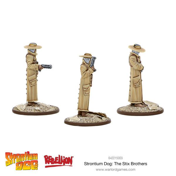 Strontium Dog - The Stix Brothers Side