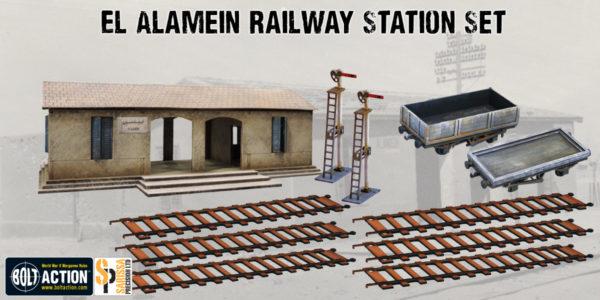 Sarissa Precision El Alamein Station Scenery Set