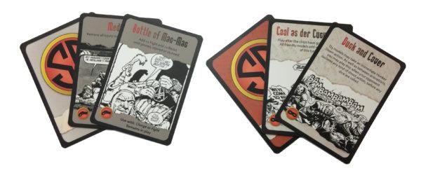 Strontium Dog Starter Set Cards
