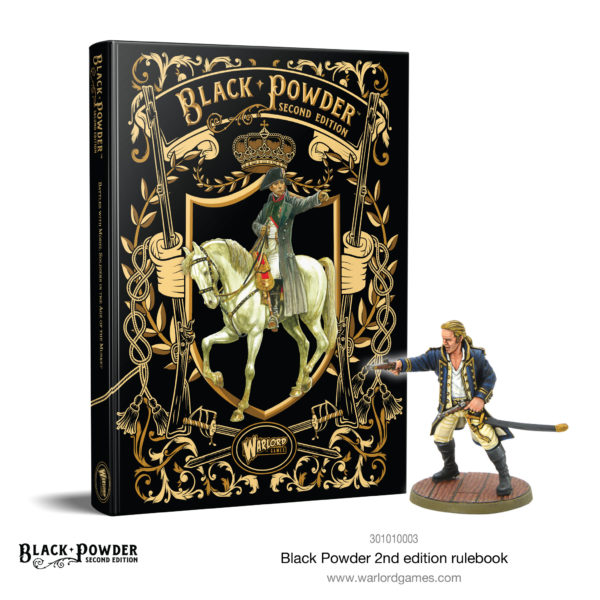 Black Powder 2nd Edition and Lucky Jack miniature