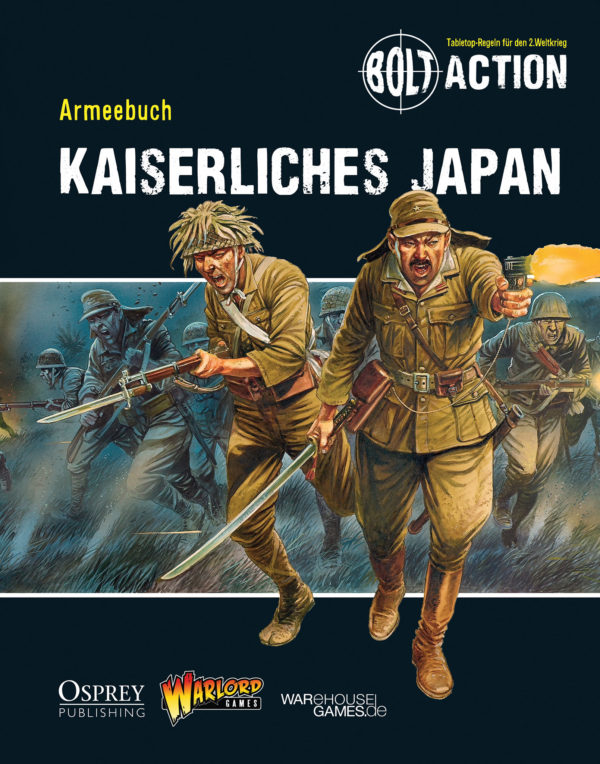 Armeebuch Kaiserliches Japan – German language edition of Armies of Imperial Japan