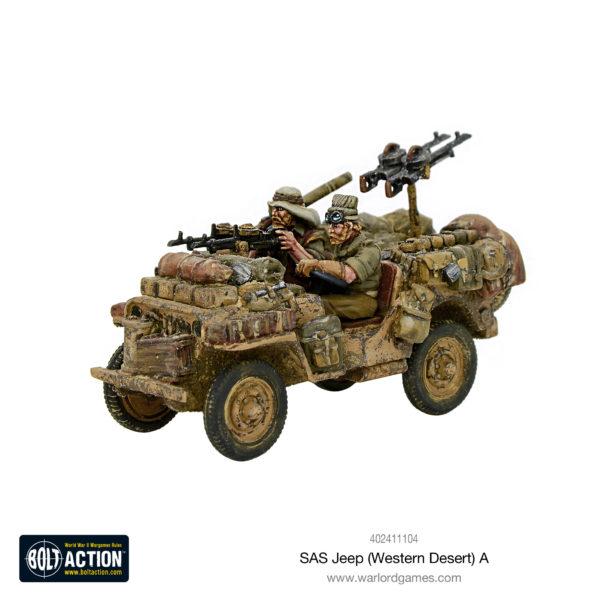 SAS Jeep (Western Desert) A