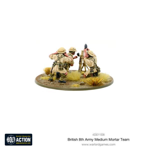 British 8th Army Mortar Team