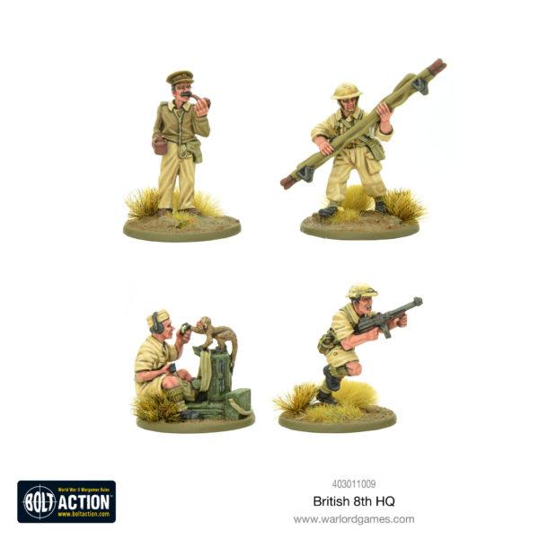British 8th Army HQ