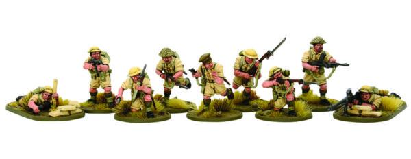 Plastic 8th Army Desert Rats